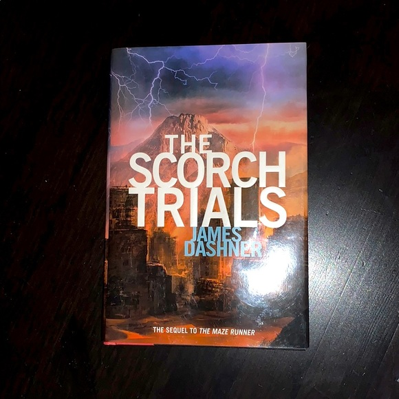 """The Scorch Trails"" by James Dashner. Hardcover."